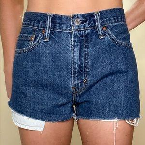 Vintage 505 Levis shorts
